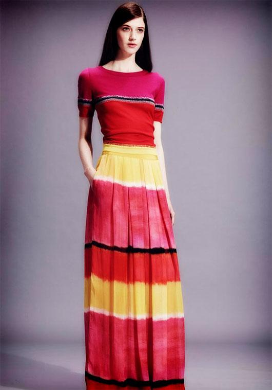 مدلهای لباس زنانه مجلسی برند Alberta Ferretti 2015